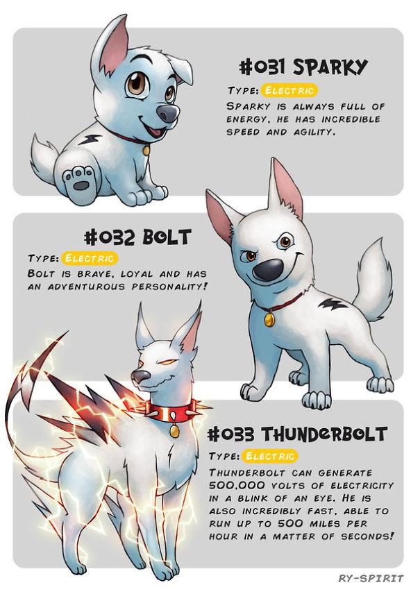 Ngắm chân dung các nhân vật Disney tiến hóa như Pokemon, số 7 còn ngầu hơn cả trong phim - Ảnh 8.