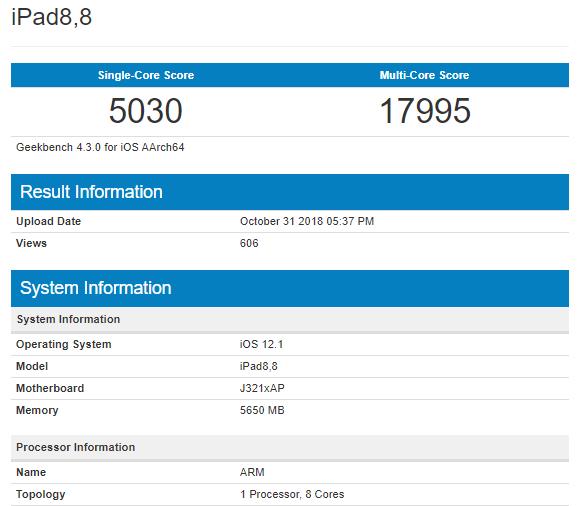Đã có điểm hiệu năng của chip A12X Bionic trên iPad Pro mới, xứng đáng là chip di động mạnh nhất thế giới hiện nay - Ảnh 3.