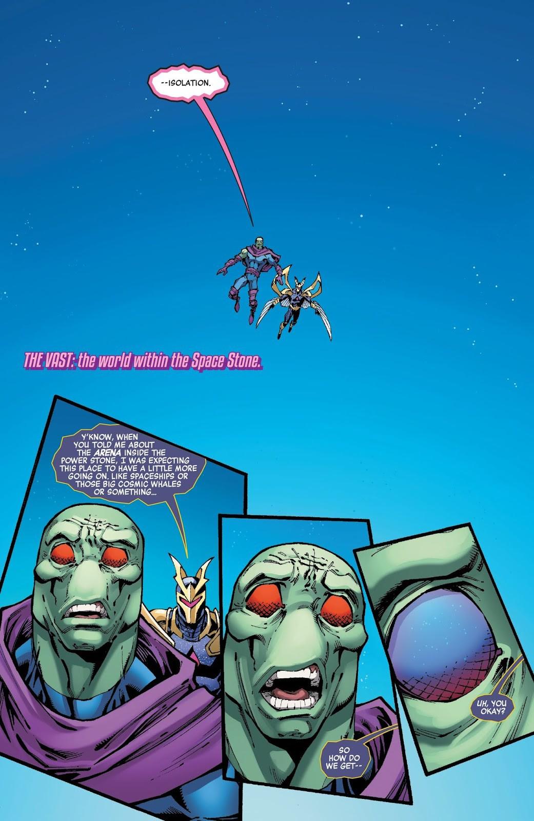 Marvel hé lộ bí mật động trời về những viên đá Vô Cực: Liệu Thanos ...