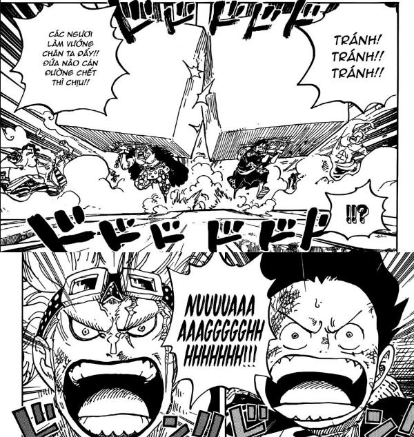 One Piece 926: Bóng ma bí ẩn xuất hiện - Dù ở trong tù nhưng Luffy và Kid vẫn sướng như tiên - Ảnh 6.