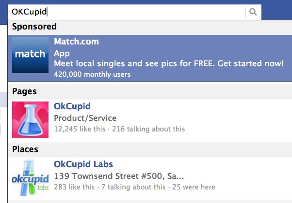 Tăng trưởng doanh thu chậm lại, Facebook sẽ hiển thị cả quảng cáo trên thanh Tìm kiếm, cạnh tranh với Google - Ảnh 3.
