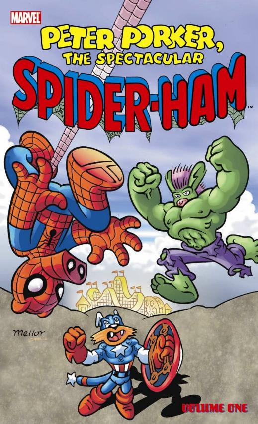 Khám phá sự thật thú vị về Spider-Ham, chú Nhện đáng yêu xuất hiện trong Spider-Man: Into the Spider-Verse - Ảnh 3.