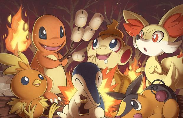 Vì sao thuộc tính của các Pokemon khởi đầu trong game luôn là lửa - nước - lá? - Ảnh 2.