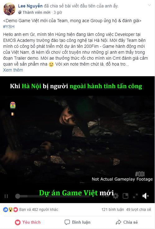 Xuất hiện dự án game Việt mới, lấy đề tài Hà Nội bị người ngoài hành tinh tấn công - Ảnh 3.