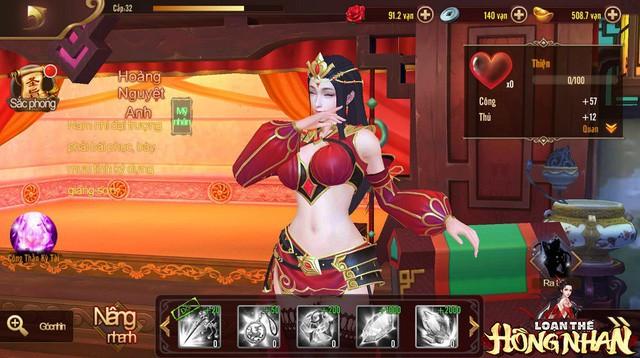 Chảy máu mũi với tựa game cho phép game thủ cưới Điêu Thuyền, Đại Kiều, Chân Cơ và nhiều mỹ nhân khác về làm thiếp - Ảnh 5.