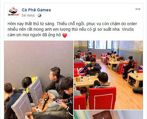 Tiệm Cà Phê Games của Viruss thất thủ ngày đầu mở cửa - Ảnh 6.