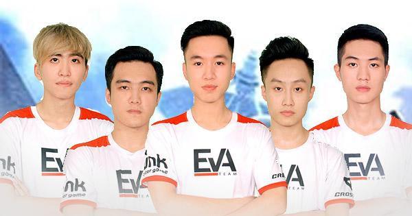 EVATEAM hứa hẹn là một ứng cử viên cho danh hiệu Đội tuyển Esports Xuất sắc với những thành tích năm vừa qua