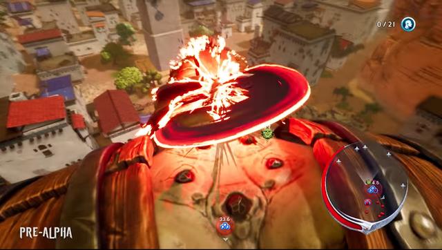 Giống với Attack on Titan, lối chơi của Extinction tập trung chủ yếu vào việc bay nhảy và tấn công vào các điểm yếu của những gã khổng lồ.