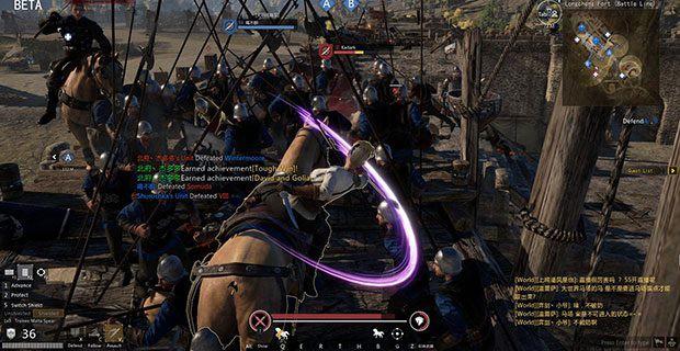 Game chiến trường đã mắt Conqueror's Blade đã mở thử nghiệm bản tiếng Anh