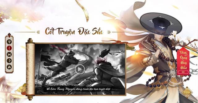 Trải nghiệm Binh Khí Phổ - Dòng game kiếm hiệp thuần chất