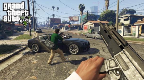 Những hình ảnh bạo lực xuất hiện đầy rẫy trong game.