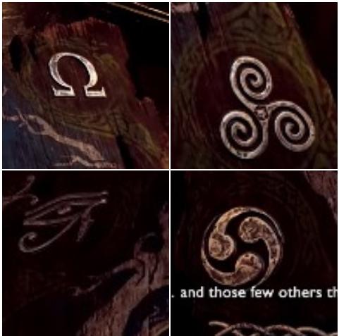 Những bằng chứng khác cho thấy sự xuất hiện của các nền văn minh khác nhau trong God of War