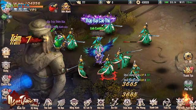 Trải nghiệm Ngạo Thiên Mobile - Làn gió mới cho làng game Việt