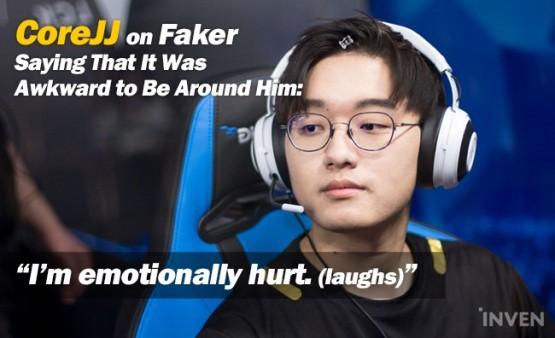 LMHT: GEN CoreJJ chia sẻ cảm giác của mình khi được ở chung phòng với Faker tại vòng loại Asian Games 2018