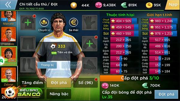 Maradona xuất hiện khá bất ngờ, với khả năng dứt điểm và dẫn bóng tốt