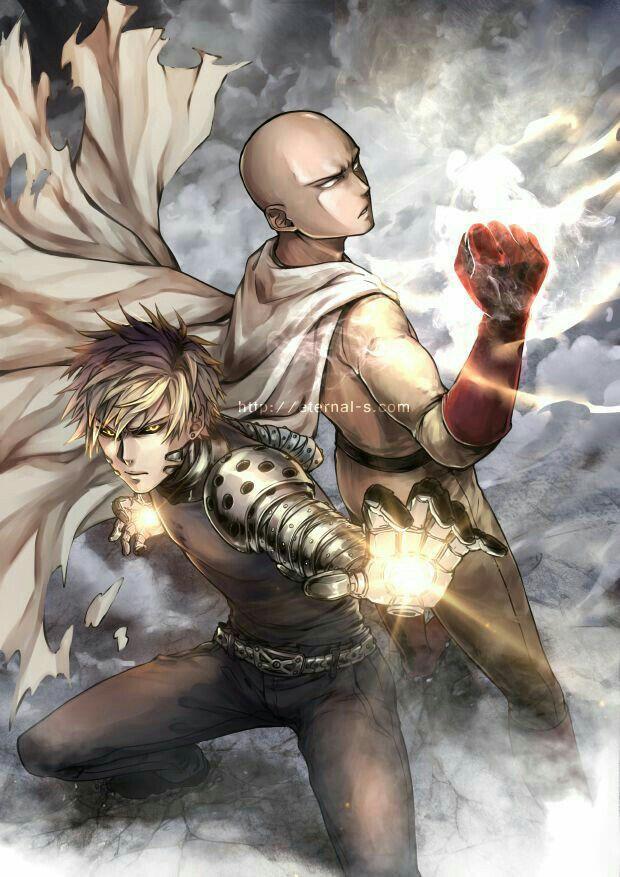 Bộ fanart cực chất khoe trọn sức mạnh của thánh Phồng Saitama trong One Punch Man - Ảnh 1.