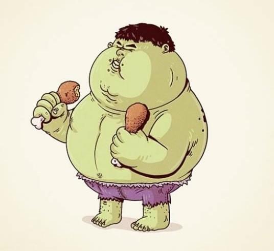 Cười ra nước mắt với hình ảnh các nhân vật hoạt hình đình đám trở nên béo phì - Ảnh 11.