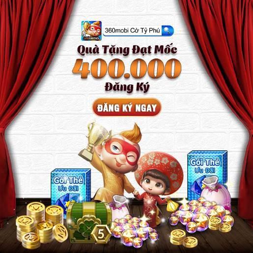 360mobi Cờ Tỷ Phú chính thức ra mắt ngày 29/8, tặng game thủ nhiều quà tặng hấp dẫn - Ảnh 2.