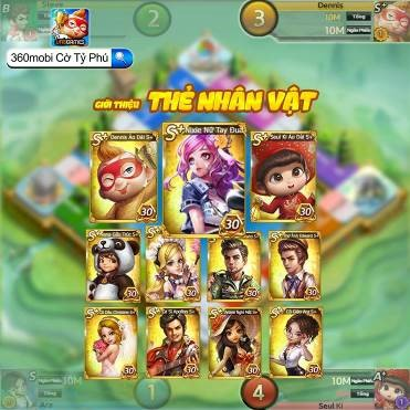 360mobi Cờ Tỷ Phú chính thức ra mắt ngày 29/8, tặng game thủ nhiều quà tặng hấp dẫn - Ảnh 4.