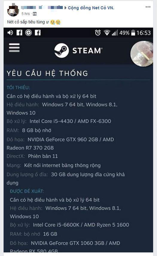 PUBG đột nhiên tăng yêu cầu phần cứng, net cỏ Việt Nam lo ngay ngáy như tận thế - Ảnh 2.