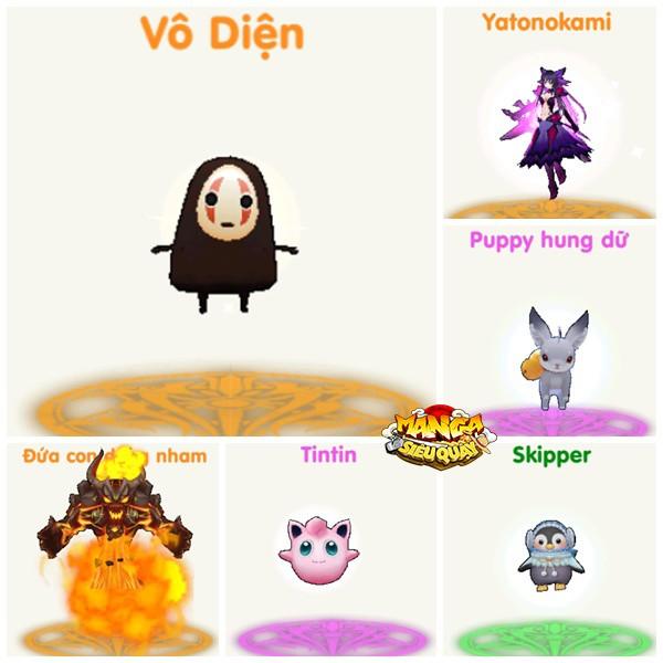 [Góc Pet cực hài] Vô Diện, Baymax, Pokemon nhún nhảy như quẩy Vinahouse trong Manga Siêu Quậy - Ảnh 1.