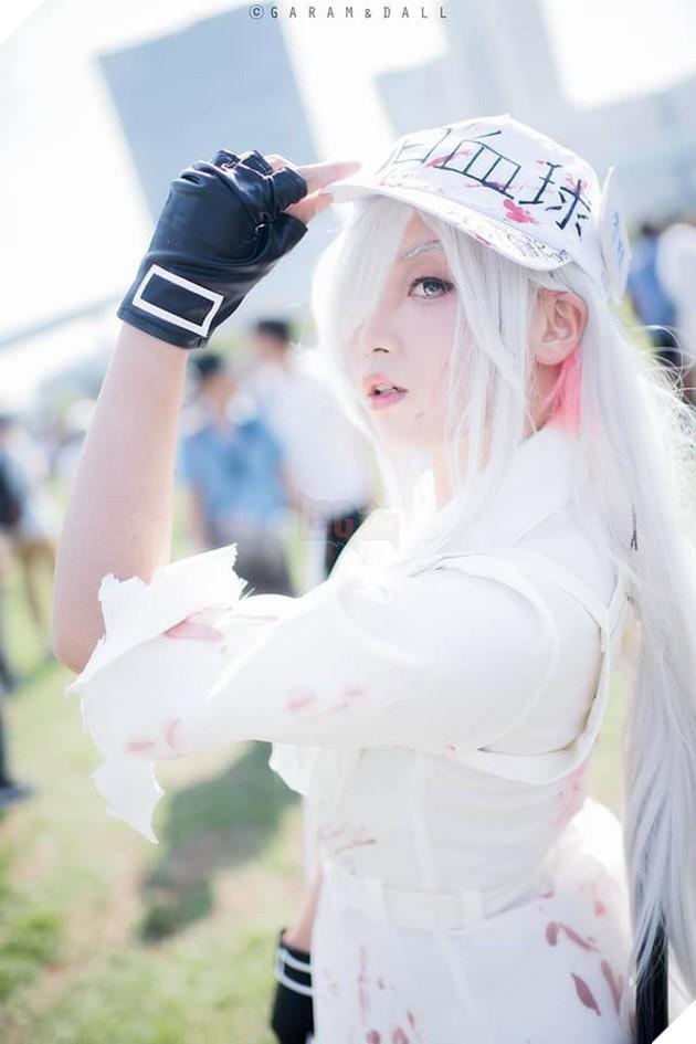 Nóng bỏng mắt với bộ ảnh cosplay cực sexy của nàng Bạch Cầu trong anime đình đám Cells at Work - Ảnh 5.