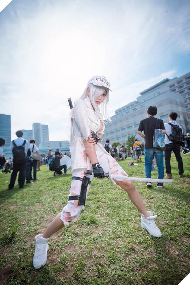 Nóng bỏng mắt với bộ ảnh cosplay cực sexy của nàng Bạch Cầu trong anime đình đám Cells at Work - Ảnh 12.