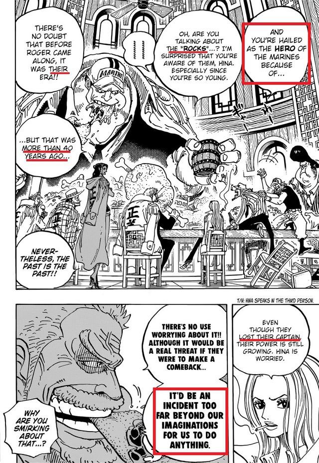 Phát hiện thêm một thành viên bí mật của Rocks - băng hải tặc mạnh nhất mọi thời đại trong One Piece - Ảnh 2.