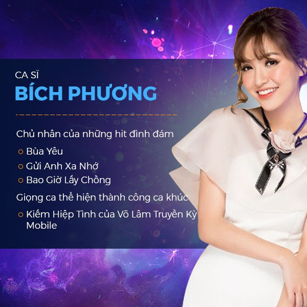 Bích Phương nữ giám khảo chính của Miss Võ Lâm Truyền Kỳ Mobile Photo-1-1536916932401335305908