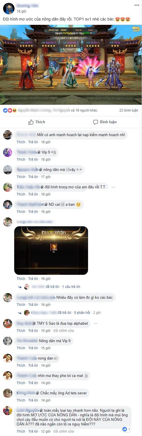 """Vừa mở game được 2 ngày, Võ Thần Vô Song đã xuất siêu VIP sở hữu dàn tướng khủng """"phê lòi mắt"""" - Ảnh 8."""