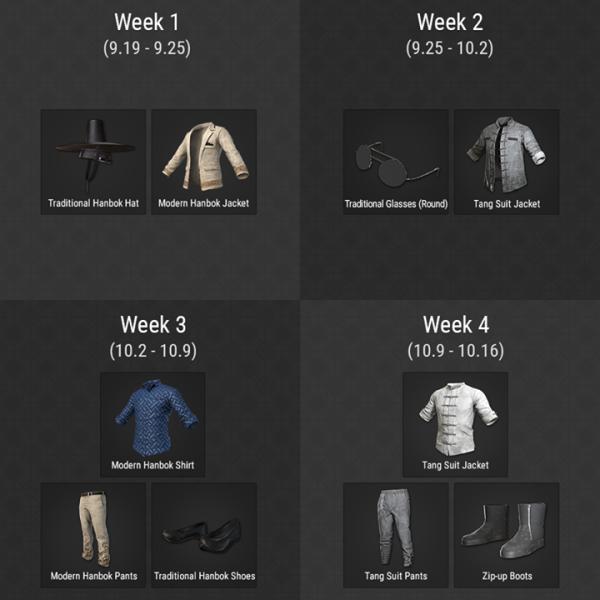 Sở hữu ngay set trang phục cực chất mà miễn phí trong PUBG chỉ qua một vài nhiệm vụ đơn giản - Ảnh 1.