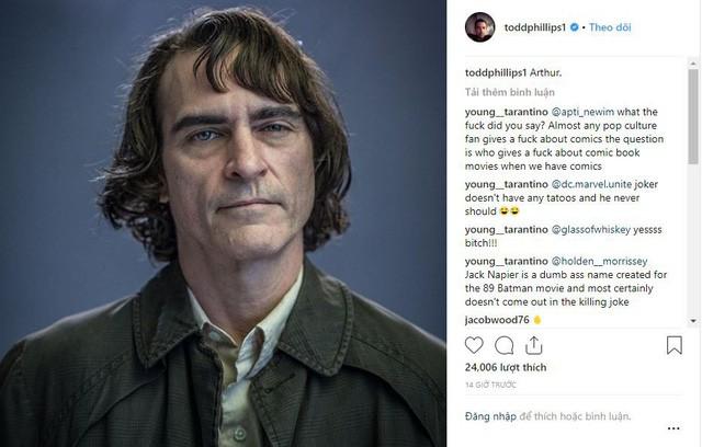Joker của Joaquin Phoenix hiện nguyên hình thành một gã hề quái đản điên loạn khiến fan vô cùng phấn khích - Ảnh 3.