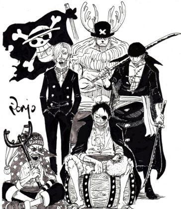 One Piece: Thời gian không tha một ai dù có là Vua Hải Tặc, loạt fanart Luffy phiên bản bô lão sẽ chứng minh điều này - Ảnh 7.
