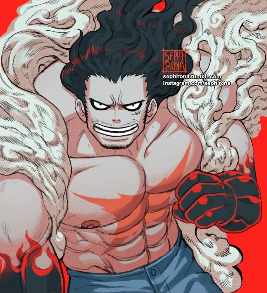 One Piece: Thời gian không tha một ai dù có là Vua Hải Tặc, loạt fanart Luffy phiên bản bô lão sẽ chứng minh điều này - Ảnh 9.