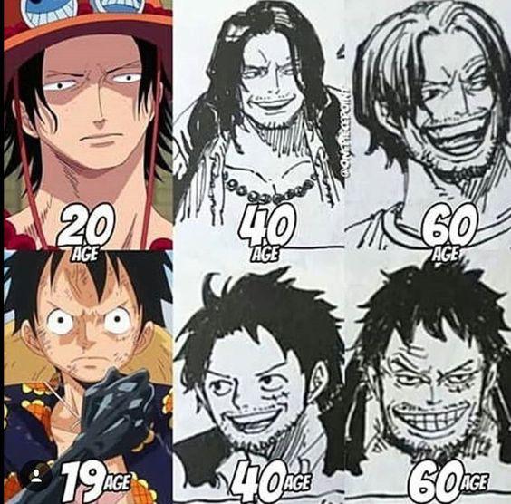 One Piece: Thời gian không tha một ai dù có là Vua Hải Tặc, loạt fanart Luffy phiên bản bô lão sẽ chứng minh điều này - Ảnh 1.