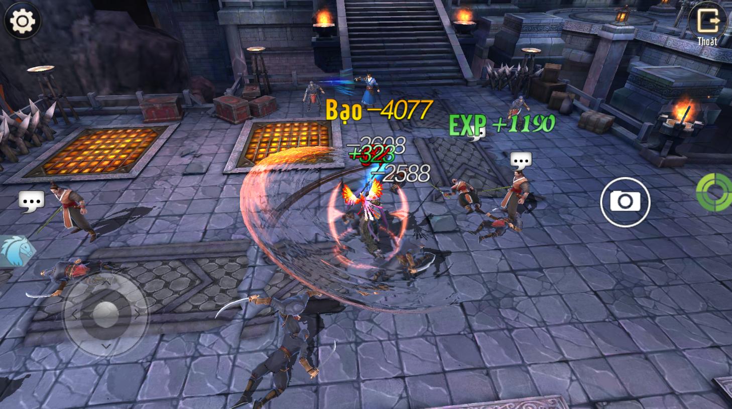"""Cẩm Y Vệ: Mẹo """"hack"""" exp ầm ầm cho các game thủ dưới level 120 - Ảnh 3."""