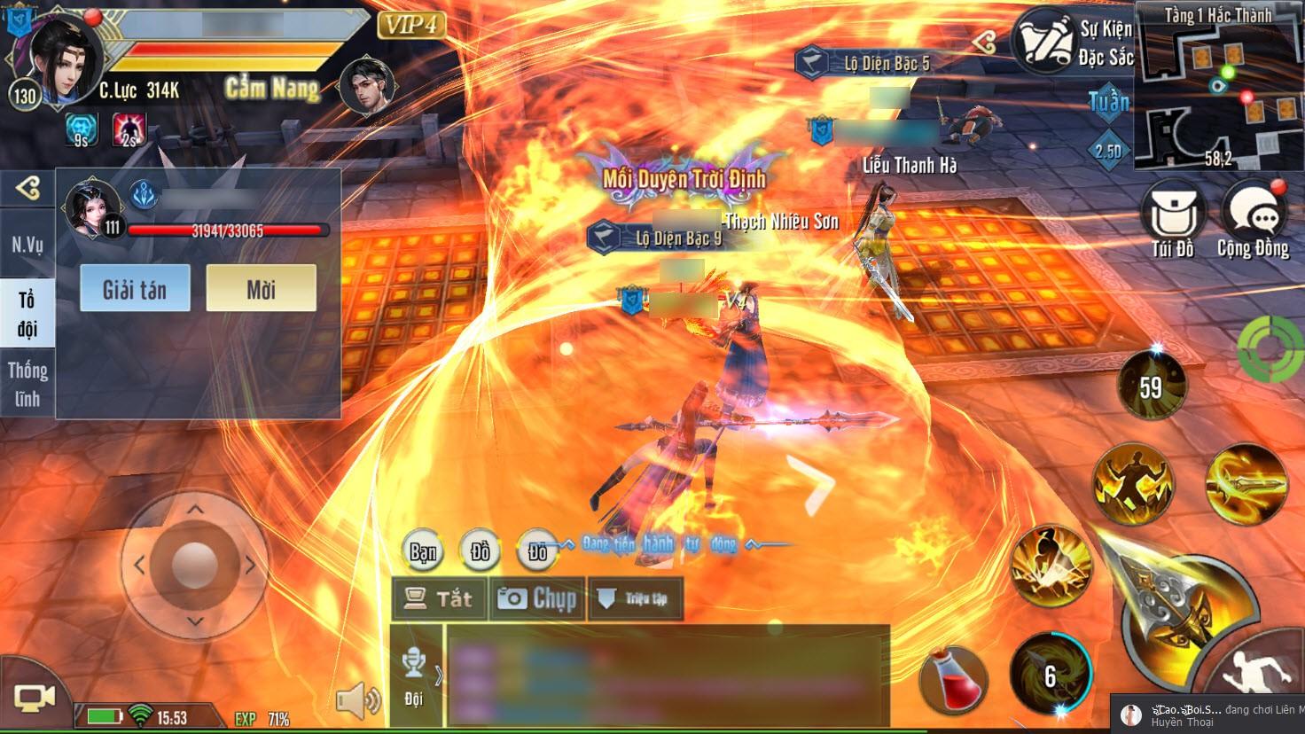 """Cẩm Y Vệ: Mẹo """"hack"""" exp ầm ầm cho các game thủ dưới level 120 - Ảnh 4."""