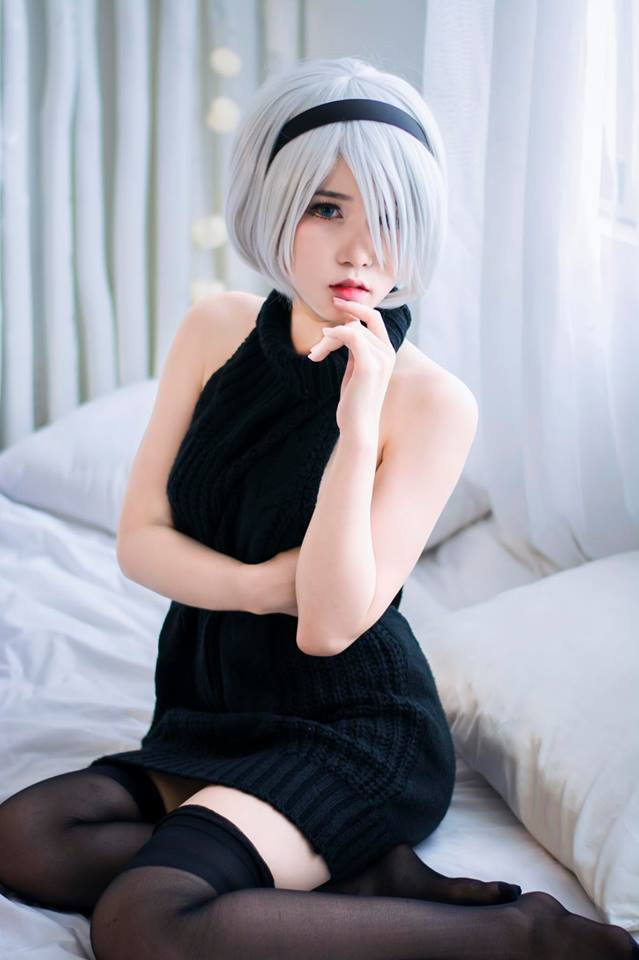 Suýt trớ sáng thứ Bảy với loạt ảnh cosplay cô nàng 2B đầy táo bạo và gợi cảm - Ảnh 18.