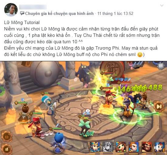 3 Buff nuôi Lữ Mông, trụ được 10 turn auto win: Trào lưu mới cực đau tim của game thủ Thiên Hạ Anh Hùng - Ảnh 3.