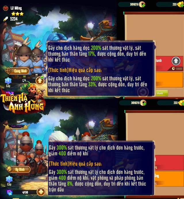 3 Buff nuôi Lữ Mông, trụ được 10 turn auto win: Trào lưu mới cực đau tim của game thủ Thiên Hạ Anh Hùng - Ảnh 1.