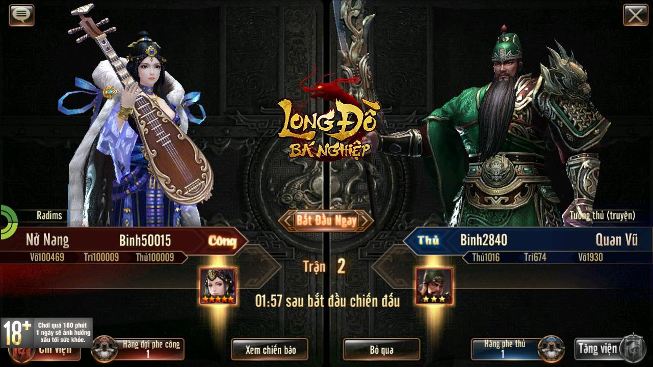 Hừng hực khí thế với trailer Long Đồ Bá Nghiệp: Game chiến thuật Top 1 Châu Á sắp ra mắt tháng 1 - Ảnh 1.