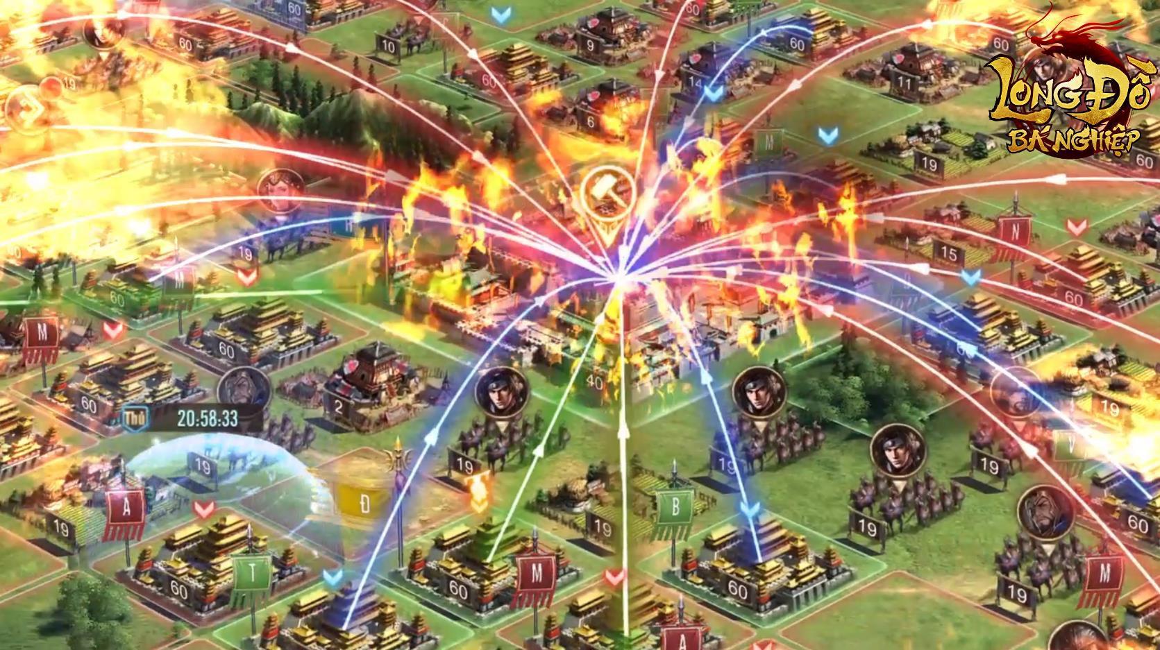 Hừng hực khí thế với trailer Long Đồ Bá Nghiệp: Game chiến thuật Top 1 Châu Á sắp ra mắt tháng 1 - Ảnh 6.