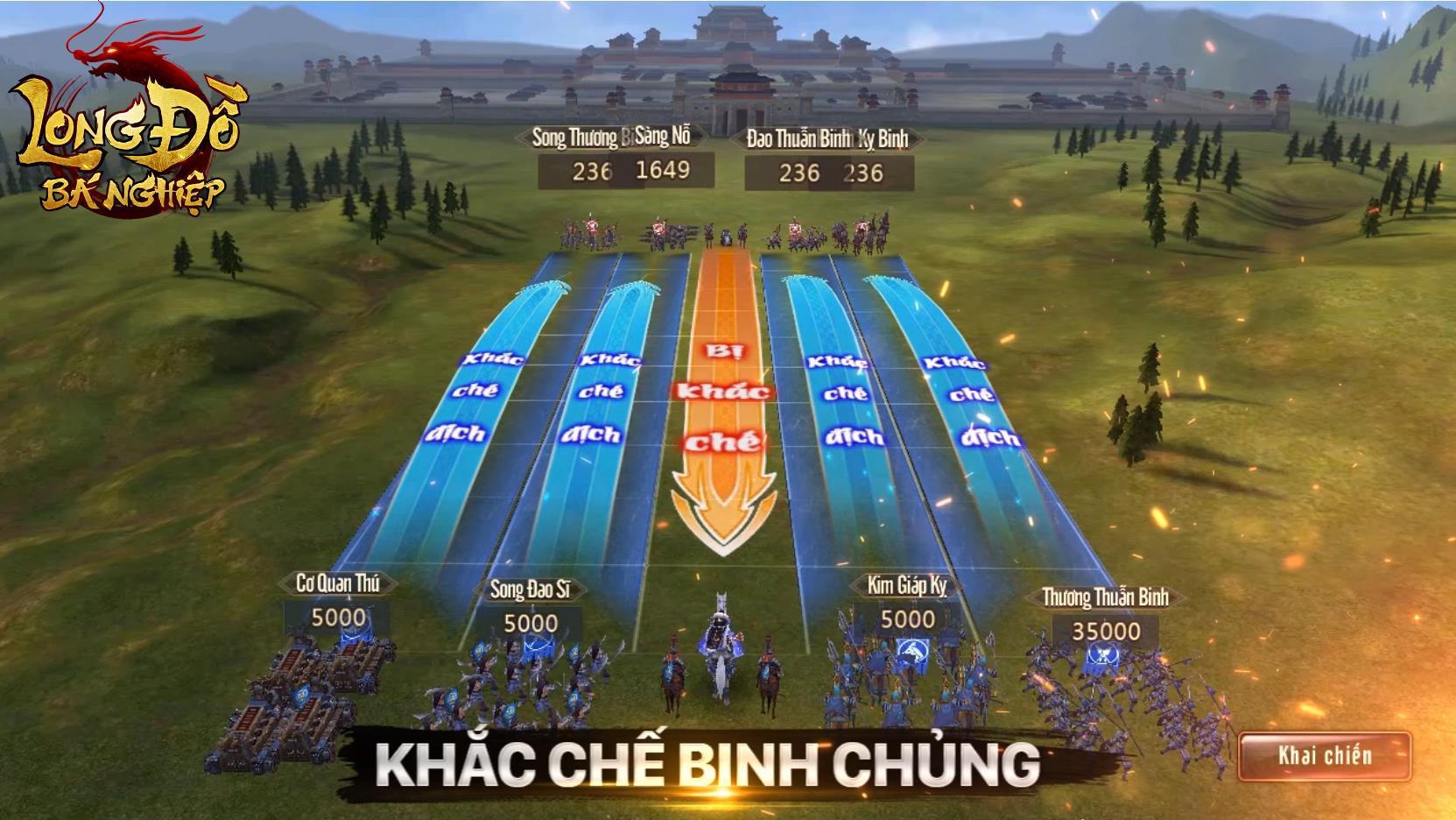 Hừng hực khí thế với trailer Long Đồ Bá Nghiệp: Game chiến thuật Top 1 Châu Á sắp ra mắt tháng 1 - Ảnh 8.