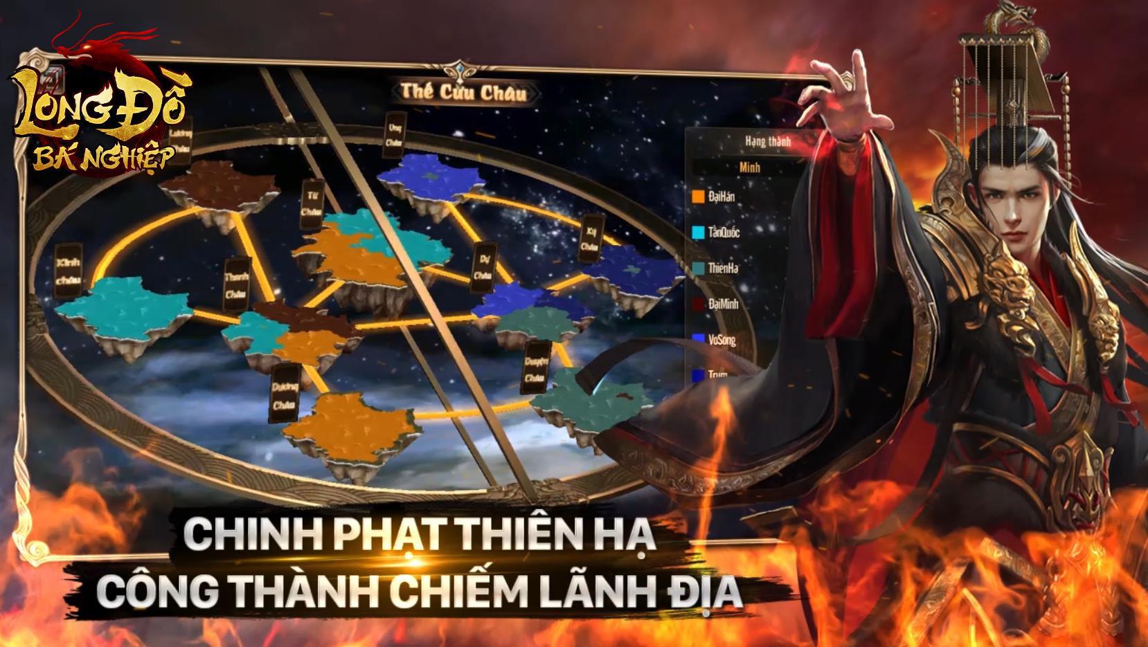 Hừng hực khí thế với trailer Long Đồ Bá Nghiệp: Game chiến thuật Top 1 Châu Á sắp ra mắt tháng 1 - Ảnh 9.