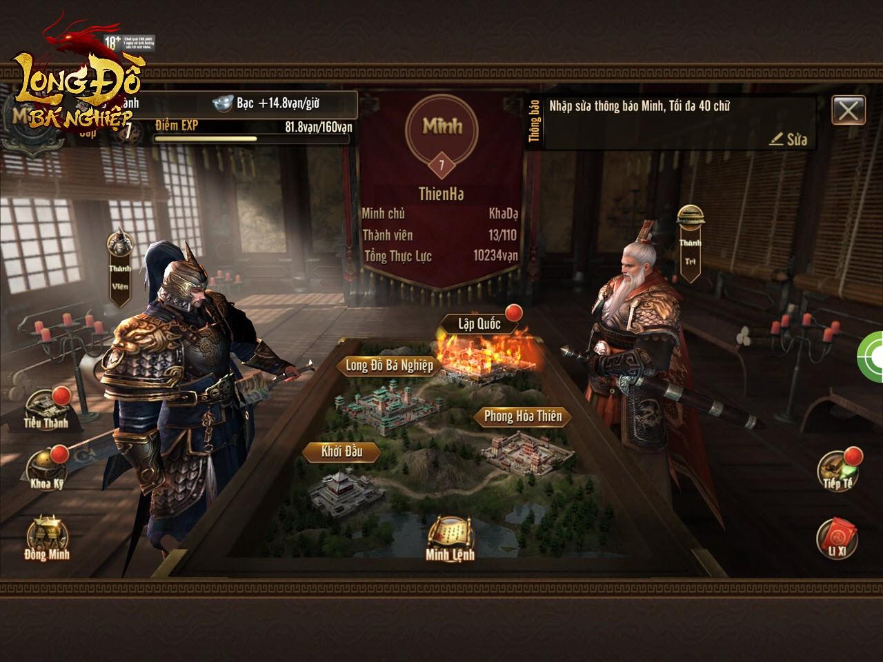 Bom tấn chiến thuật SLG Top 1 Châu Á Long Đồ Bá Nghiệp chính thức ra mắt landing, Open Beta 22/01 - Ảnh 6.