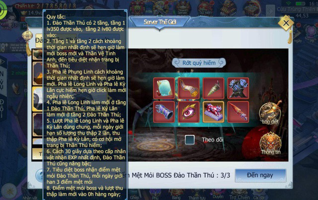 Tam Sinh Tam Thế tung update Thức Tỉnh Thiên Mệnh - Săn Boss liên server, tặng 2000 Giftcode - Ảnh 2.