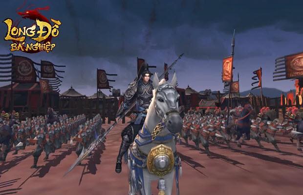 """Ngoài mác """"Game chiến thuật Top 1 Châu Á"""", Long Đồ Bá Nghiệp có gì đặc biệt khiến game thủ chờ đợi ra mắt ngày mai? - Ảnh 1."""
