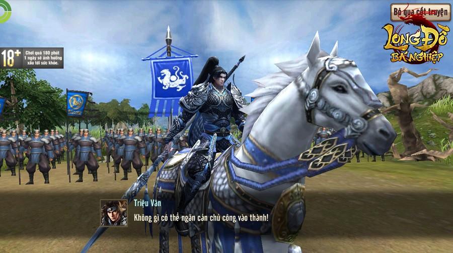 Long Đồ Bá Nghiệp là game chiến thuật SLG đầu tiên tại Việt Nam mà người chơi phải xếp hàng để được vào server, đông ngoài sức tưởng tượng - Ảnh 1.