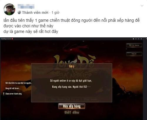 Long Đồ Bá Nghiệp là game chiến thuật SLG đầu tiên tại Việt Nam mà người chơi phải xếp hàng để được vào server, đông ngoài sức tưởng tượng - Ảnh 4.