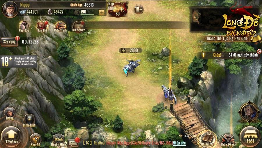 Long Đồ Bá Nghiệp là game chiến thuật SLG đầu tiên tại Việt Nam mà người chơi phải xếp hàng để được vào server, đông ngoài sức tưởng tượng - Ảnh 15.
